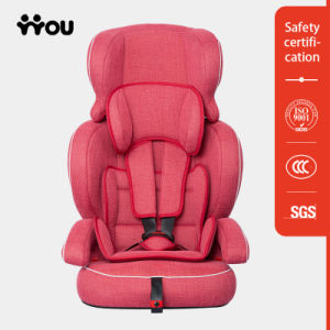 Child Car Safety Seats with Linen Fabric pictures & photos