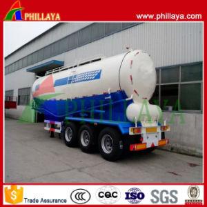 Powder Carrier Steel Tank Tanker Semi Truck Bulk Cement Trailer pictures & photos