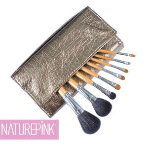 Silver Gold Professional Makeup Brush, Cosmetic Make up Brush Set 8PCS (NP0811)