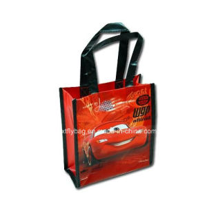 Cars Mini Non-Woven Handbag Tote Bag with Matte Printing pictures & photos