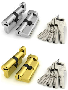 Brass Cylinder Lock, Interior Door Cylinder Lock (AL-1106) pictures & photos
