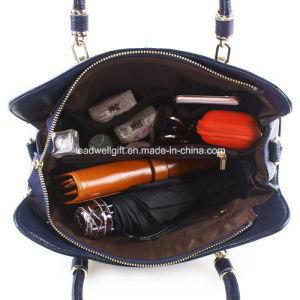 Women Ladies Genuine Leather Tote Bag Handbag Shoulder Bag Top-Handle Purse pictures & photos