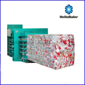 Horizontal Waste Paper Baler From Hellobaler Hfa20-25 pictures & photos