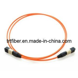 Mpt-MPO Om2 Fiber Optic Patch Cord, Optical Fiber Jumper pictures & photos