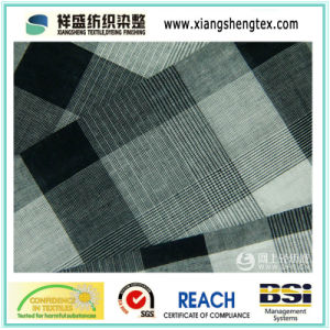 Yarn Dyed Cotton Fabric of Small Check pictures & photos