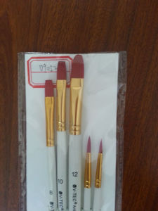 Nylon Wooden Handle Painting Brush, Bristle Paint Brush pictures & photos