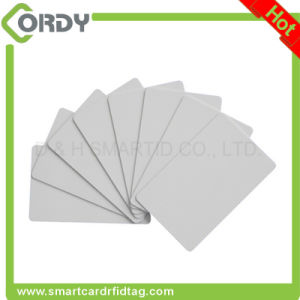 Thermal printing glossy finish 125kHz EM4200 PVC card blank white pictures & photos