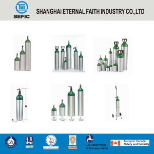 High Quality and High Pressure Aluminum Gas Cylinder pictures & photos