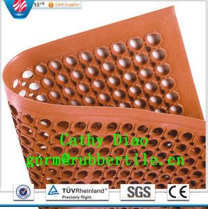 Anti Slip Interlocking Stable Mat Indoor Drainage Rubber Mat Kitchen Anti-Slip Rubber Mat Oil Resistance Rubber Mat pictures & photos
