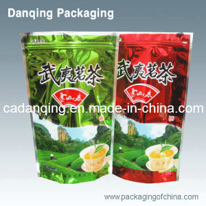 Plastic Tea Bag, Stand up Pouch with Ziplock (DQ189) pictures & photos