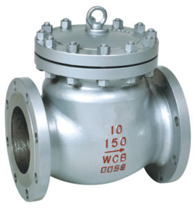 Class 150 Cast Steel Flanged Swing Check Valve