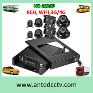 4/8 Security Cameras on Board CCTV for Cars Buses Trucks Taxis Vehicles Automotives pictures & photos