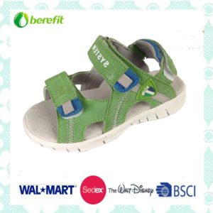 TPR Sole and PU Upper, Children′s Sporty Sandals pictures & photos