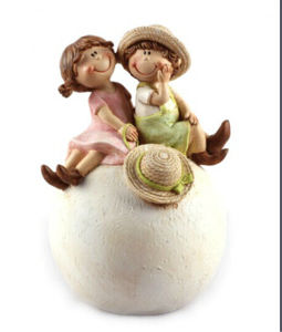 Polyresin Valentines Sculpture Home and Garden Decoration (JN02) pictures & photos