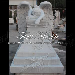 Marble Stone Granite Memorial Metrix Carrara Tombstone Mem-505