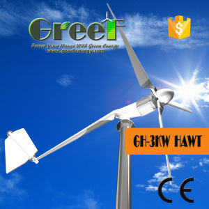3kw Horizontal Wind Turbine with 20 Years Lifespan pictures & photos