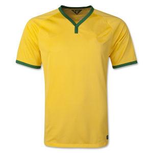 Maillot De Foot New 2014 World Cup Brazil National Home Yellow Camisetas De Futbol Football Shirts and Brasil National Team Soccer Jerseys Uniforms Kits