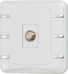Ee-Hm-K12 Factory Hot Sale Satelite Wall Socket pictures & photos
