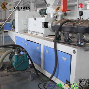 Decorative Plastic Board Production Line / WPC PVC Foam Board Making Machine Twin Screw pictures & photos