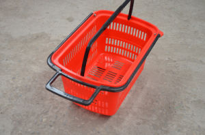 Plastic Supermarket Shopping Basket (JW-CN1407141) pictures & photos
