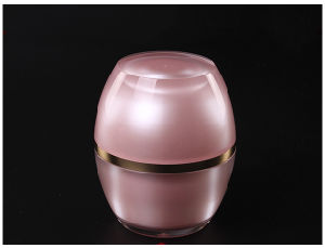 Hot Plastic Lid Acrylic Cream Jar 50g Cosmetic Jar and Cosmetic Bottles (NST34) pictures & photos