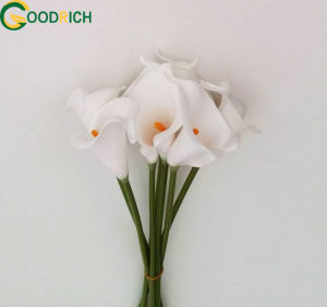 Mini Calla Lily PU Real Touch Flower