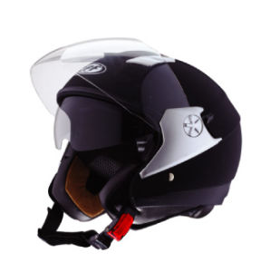 Hot Sale ECE/DOT Half Face Motorcycle Helmets with Sunvisor, Double Visors Open Face Helmets pictures & photos