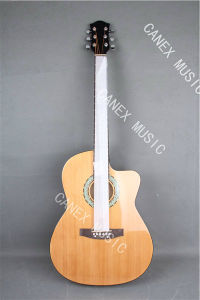 Acoustic Electric Guitar / Poplar Grade Acoustic Guitar (CMAG-130C-39) pictures & photos