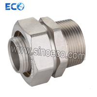 Brass Bite Type Pipe Fitting Straight Socket pictures & photos