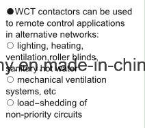 Modular Controlling Electrical Equipments AC Contactor (WCT-100A 4P) pictures & photos