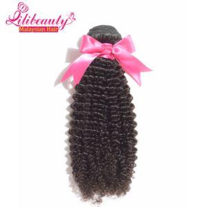 7A Grade Malaysian Virgin Human Hair Kinky Curly Hair Bundles pictures & photos