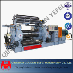 Xk-450 Open Two Rubber Mixing Mill Machine with Stock Blender pictures & photos