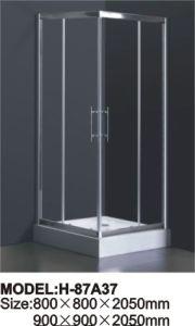 Sanitary Ware Shower Enclosure Temperd Glass Shower Door