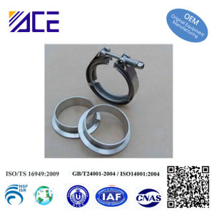 Stainless Steel Turbo V Band Hose Clamps pictures & photos