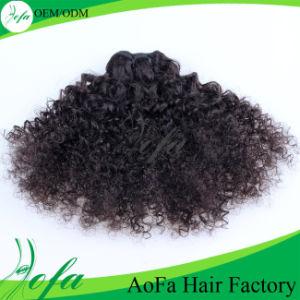Top Beauty Virgin Hair Indian Hair Extension Kinky Bulk Hair pictures & photos