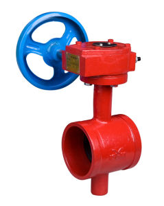 Grooved Concentric Type Butterfly Valve