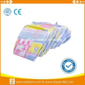 Premium Baby Diapers with Elastic Waist Band (PD-753) pictures & photos