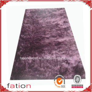 Hot Sale Solid Plain Area Rug Anti-Slip Bedroom Shaggy Carpet pictures & photos
