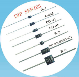 Super Fast Recovery Rectifier Diode 1A 600V Sf16 pictures & photos