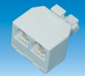 Telephone Plug Adaptor 6p4c (P-011) pictures & photos