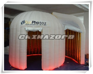 Nice Design Lighting Inflatable Photoz Booth with Authentic Quality