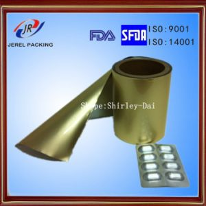 Cold Alu Alu Ny/Alu/PVC Three Layers Compound Foil for Blister Packaging pictures & photos