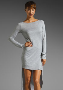 Fashion Cotton Dress (WD000080) pictures & photos