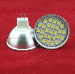 Hot Sell 27 SMD 5050 4W 330lm MR16 GU10 E27 E14 LED (Spotlight) pictures & photos