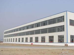 Fabricated Steel Structure Construction for Workshop and Warehouse (DG2-017) pictures & photos
