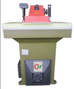 Three Keys Hydraulic Swing Arm Leather Press Cutting Machine (CH-922)
