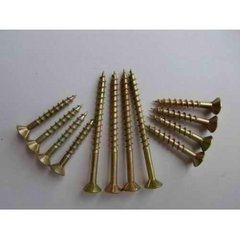 China High Quality Pozi Drive Countersunk Head Flat Head Yellow Plated or White Plated Chipboard Screws DIN7505, 2016. New pictures & photos