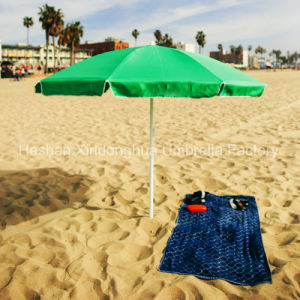 New Item Beach Umbrella Sun Parasol with Multifunctional Pockets (BU-0020P) pictures & photos