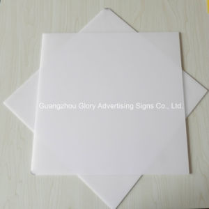 Plastic Acrylic LED Light PMMA Milky White Diffuser Sheet pictures & photos