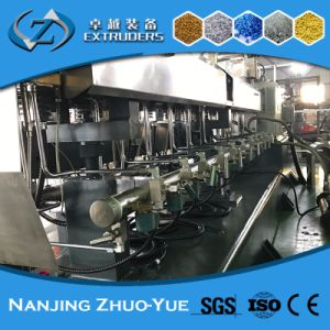 Zte Low Price Plastic Twin Screw Extruder for Masterbatch pictures & photos
